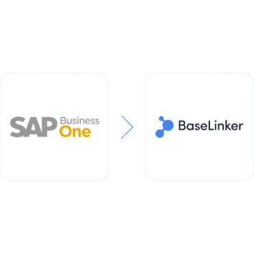 Stock update from SAP Business One (MS SQL) to BaseLinker